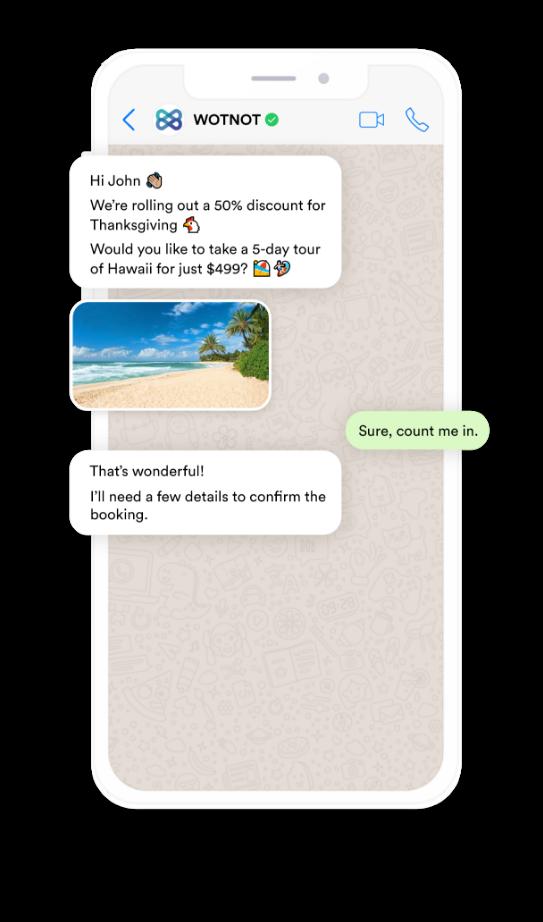 WhatsApp Chatbot - Hero Image