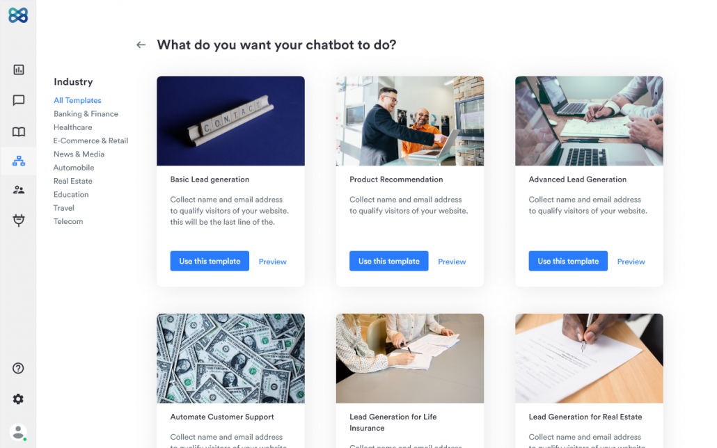 Curated Templates
