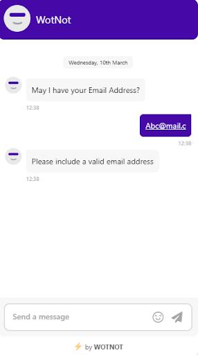 WotNot Chatbot